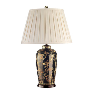 Blackfen Traditional Table Lamp c/w Shade - ID 8286