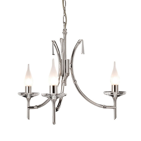 Brightwell 3 Arm Chandelier - London Lighting - 1