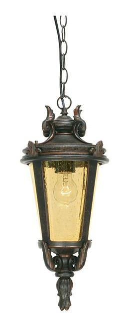 Baltimore Chain Lantern Large - London Lighting - 1