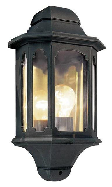 Chapel Half Lantern Black - London Lighting - 1