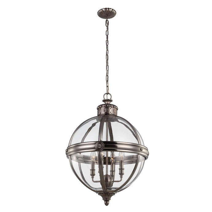 Feiss Adams 4 Light Pendant Chandelier - London Lighting - 2