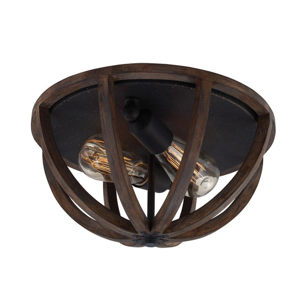 Feiss Allier Flush Mount - London Lighting - 1