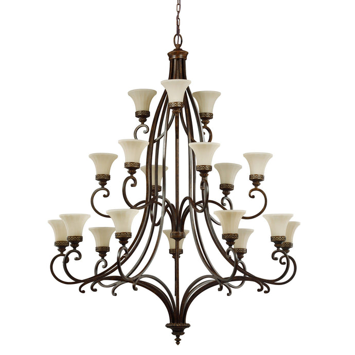 Feiss Drawing Room 18 Light Chandelier - London Lighting - 1