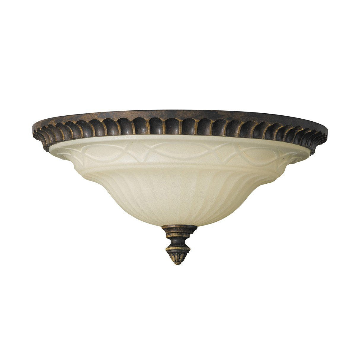 Feiss Drawing Room 2 Light Flush Mount - London Lighting - 1
