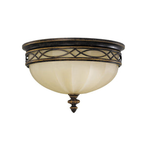 Feiss Drawing Room 3 Flush Mount - London Lighting - 1