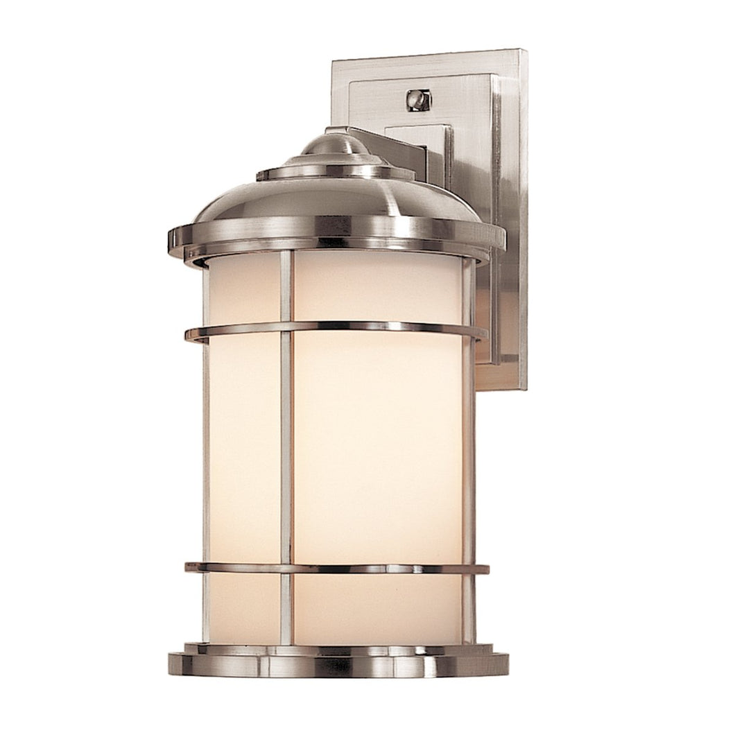 Brushed Steel Medium Wall Lantern