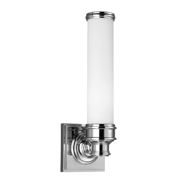 Feiss Payne Single Bathroom Wall Light - London Lighting - 1