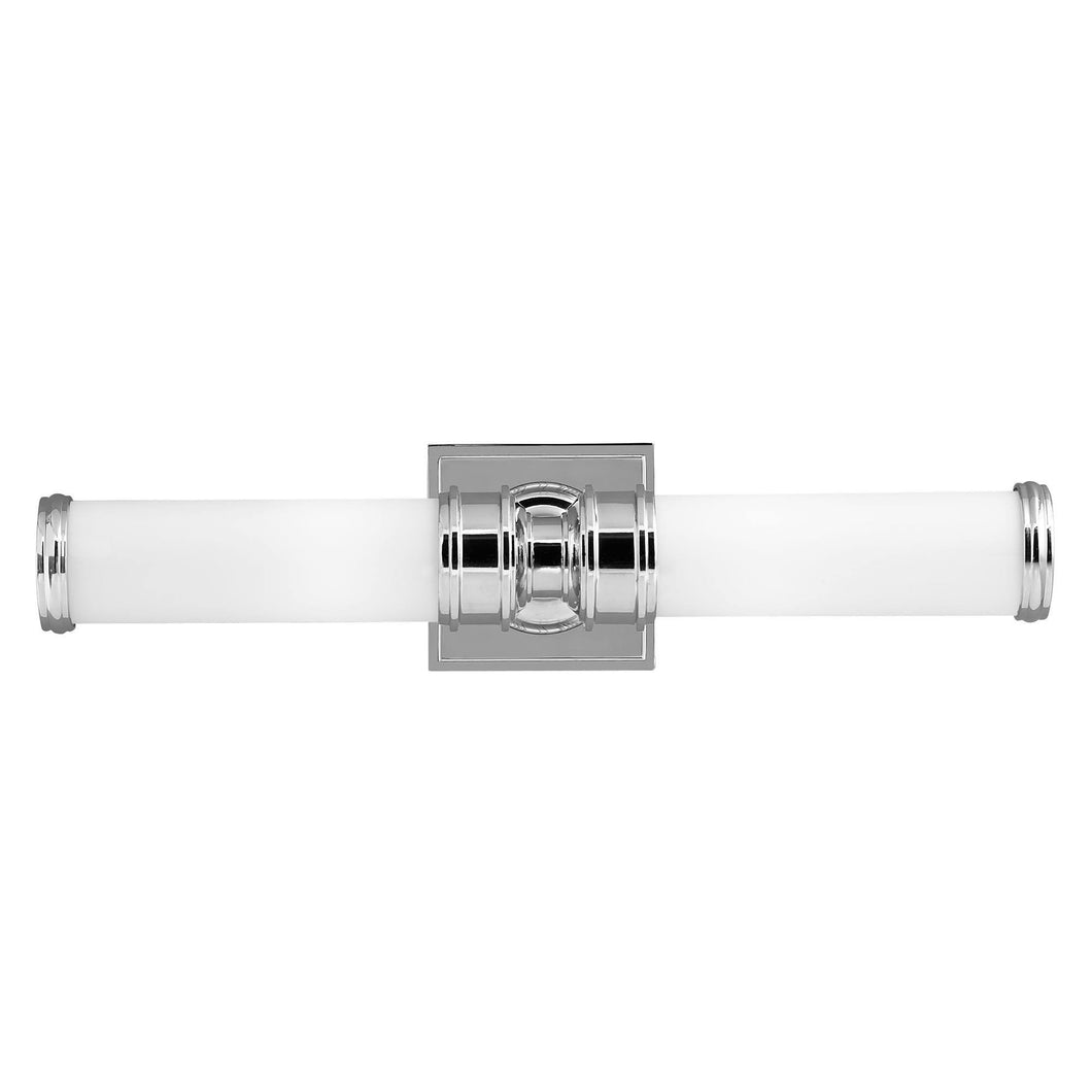 Feiss Payne Double Arm Bathroom Wall Light - London Lighting - 1