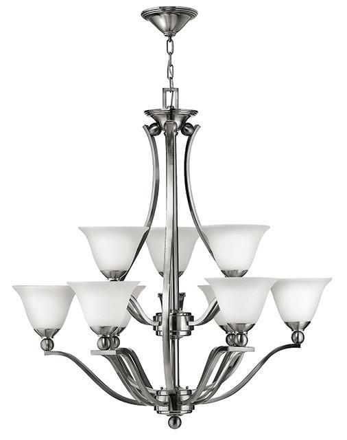 BOLLA - 9 Lamp Chandelier - London Lighting - 1