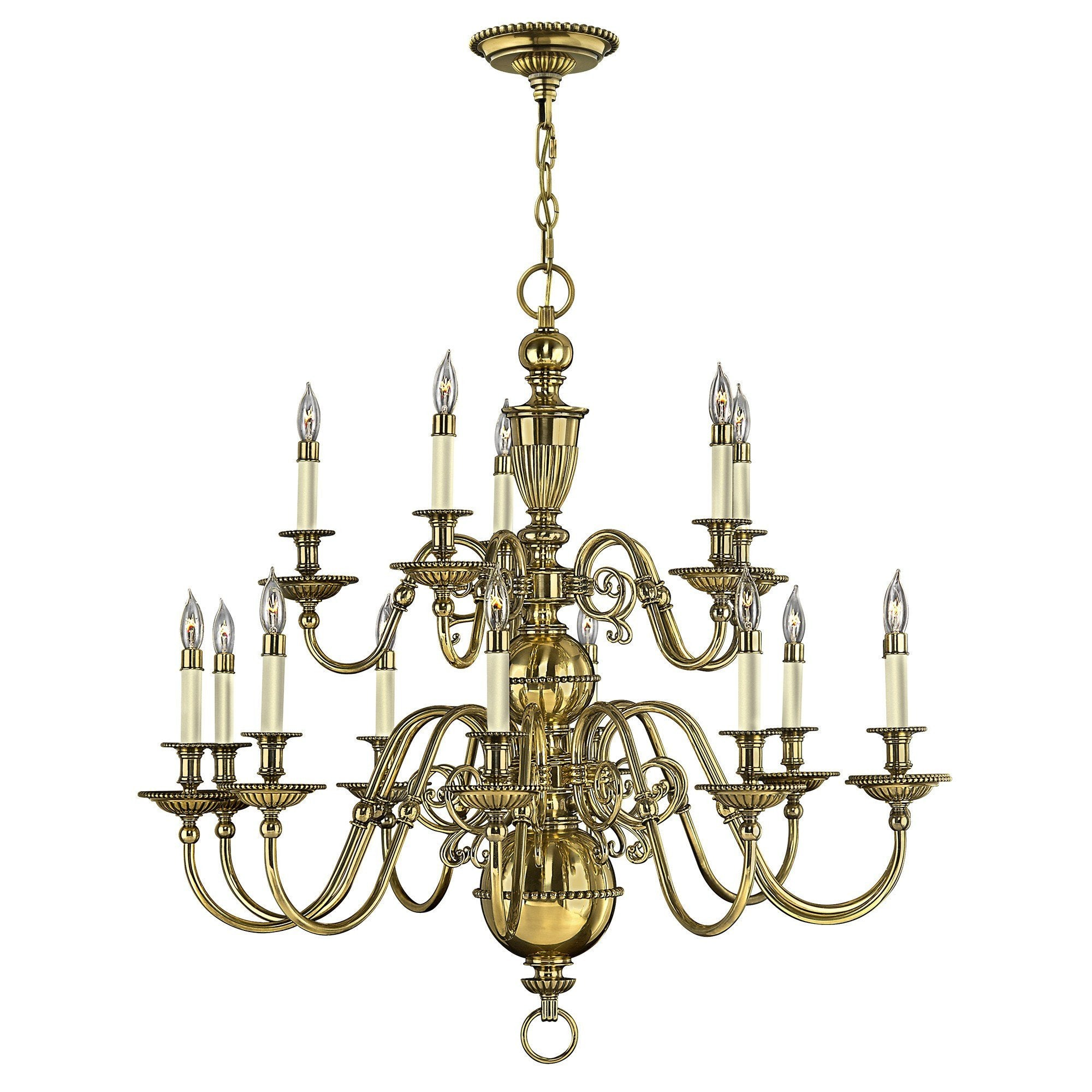 Hinkley Cambridge 15 Light Chandelier - London Lighting - 1