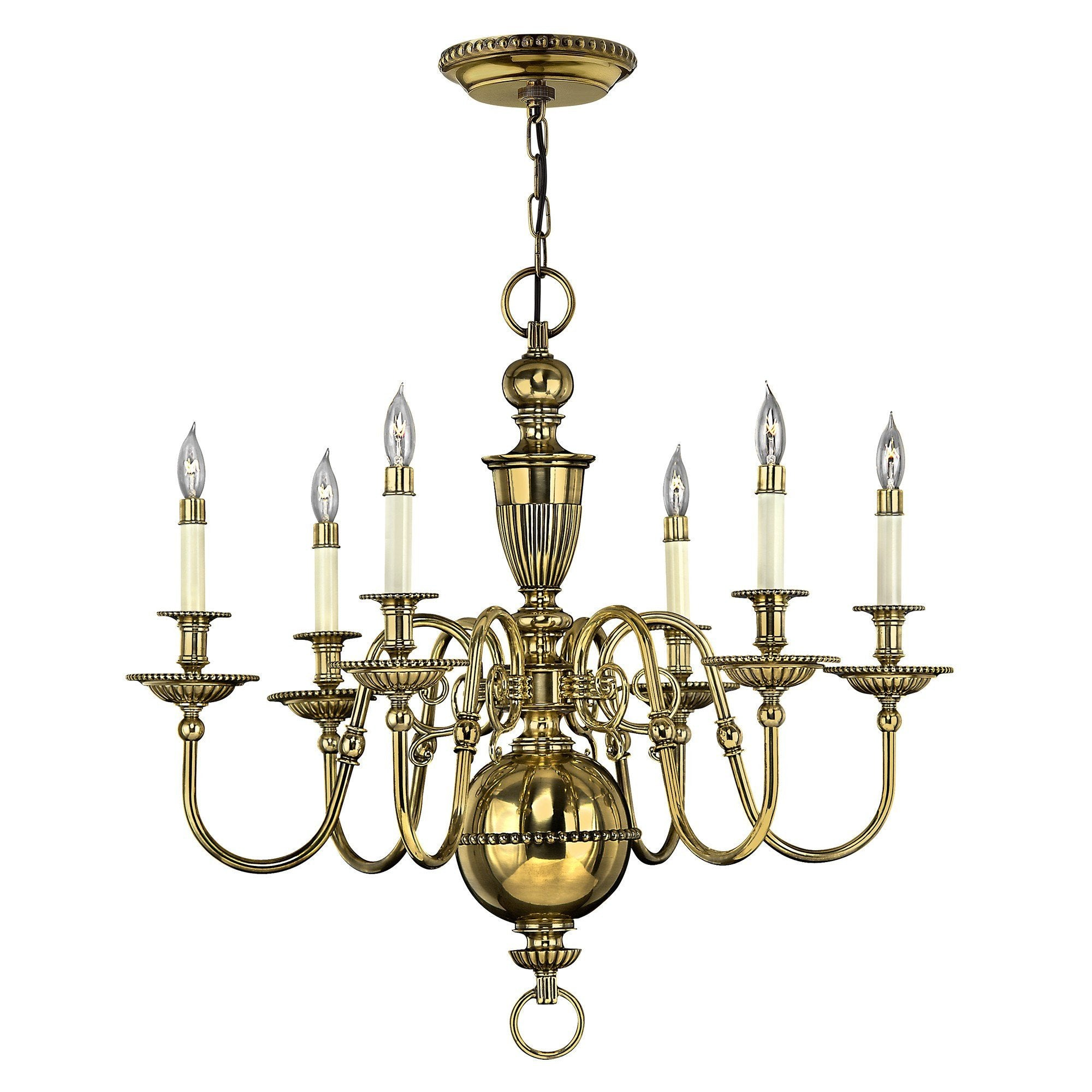 Hinkley Cambridge 6 Light Chandelier - London Lighting - 1