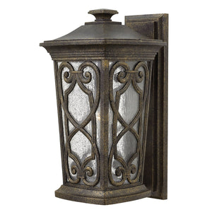 Enzo One Light Autumn Medium Wall Lantern