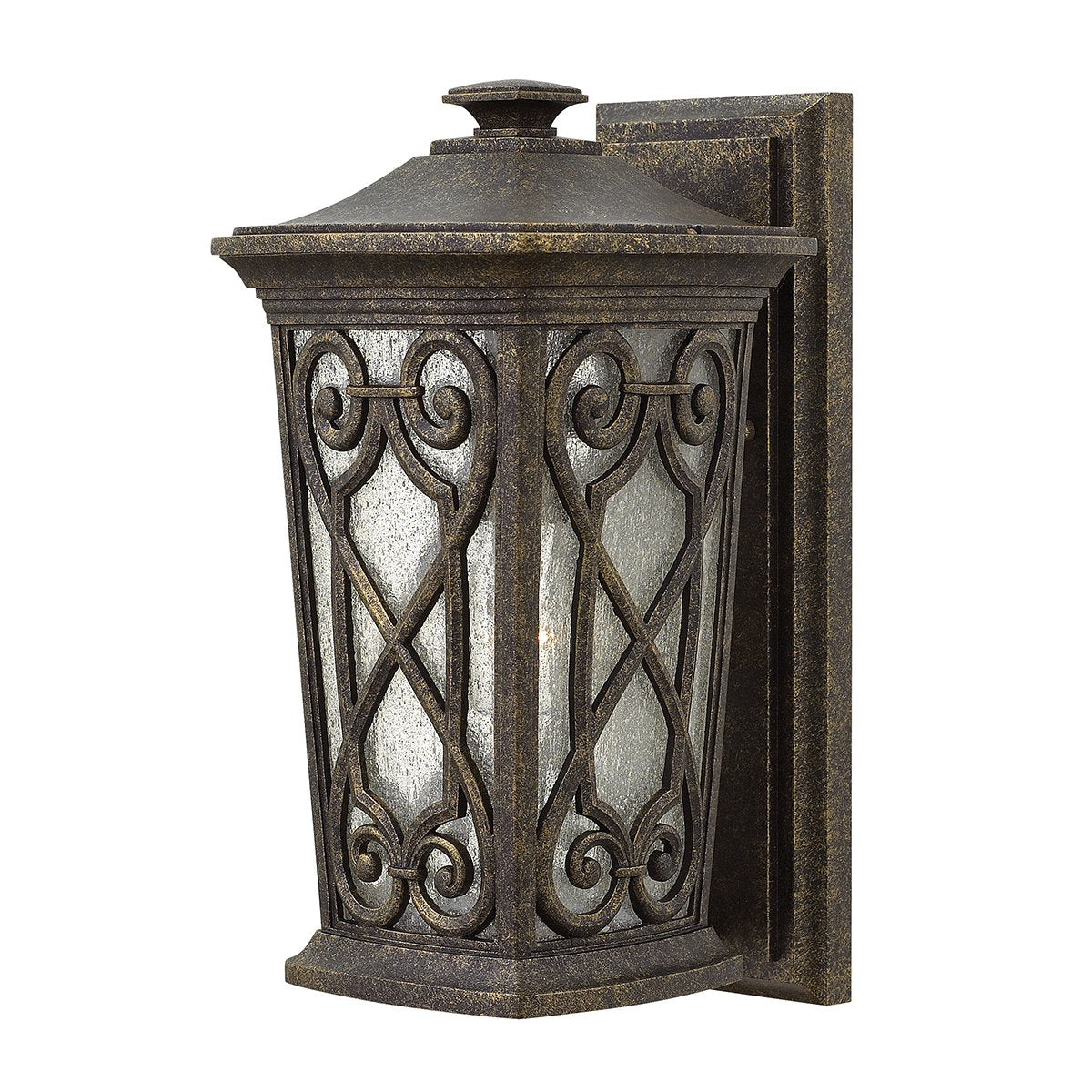 Enzo One Light Autumn Small Wall Lantern