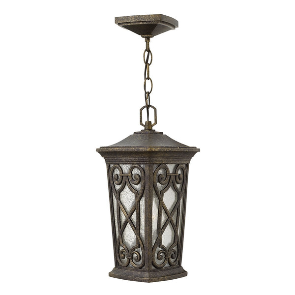 Enzo One Light Autumn Small Chain Lantern