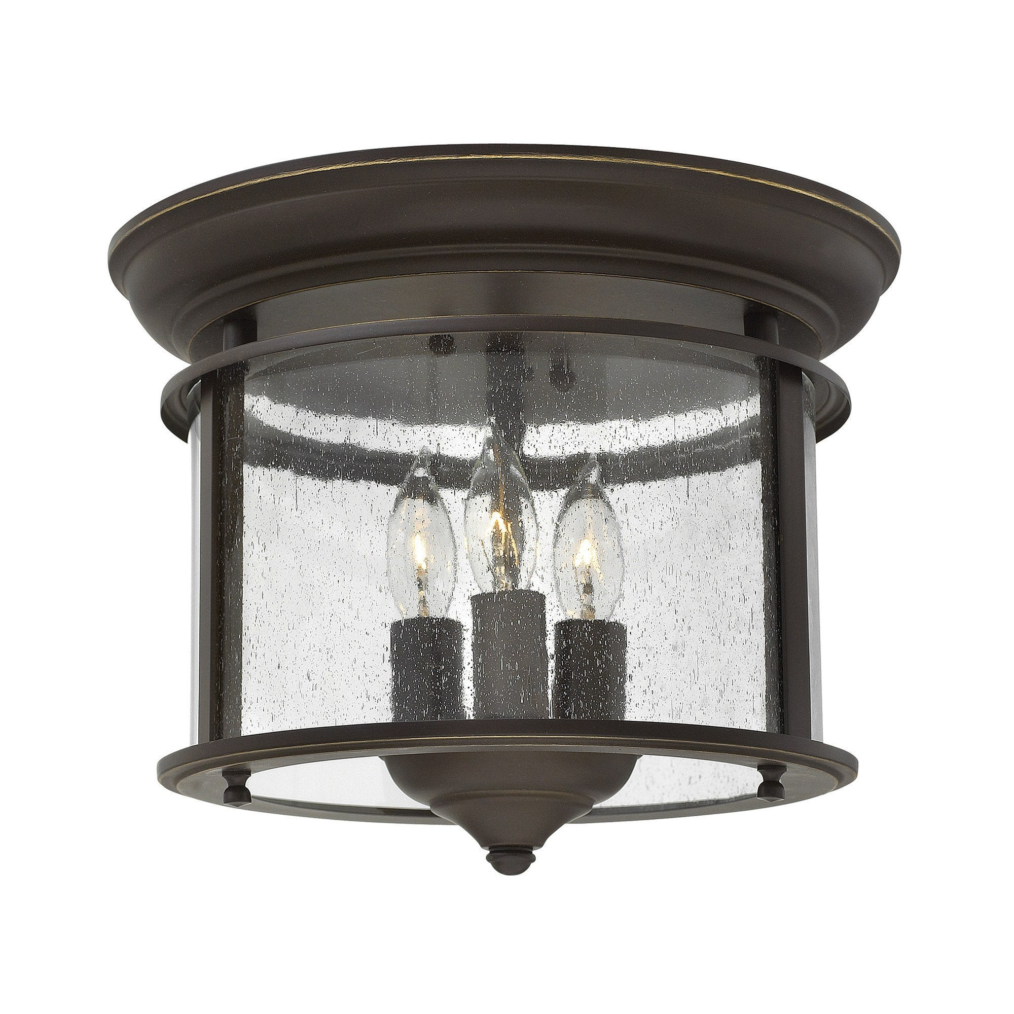 Hinkely Gentry Flush Mount - London Lighting - 3