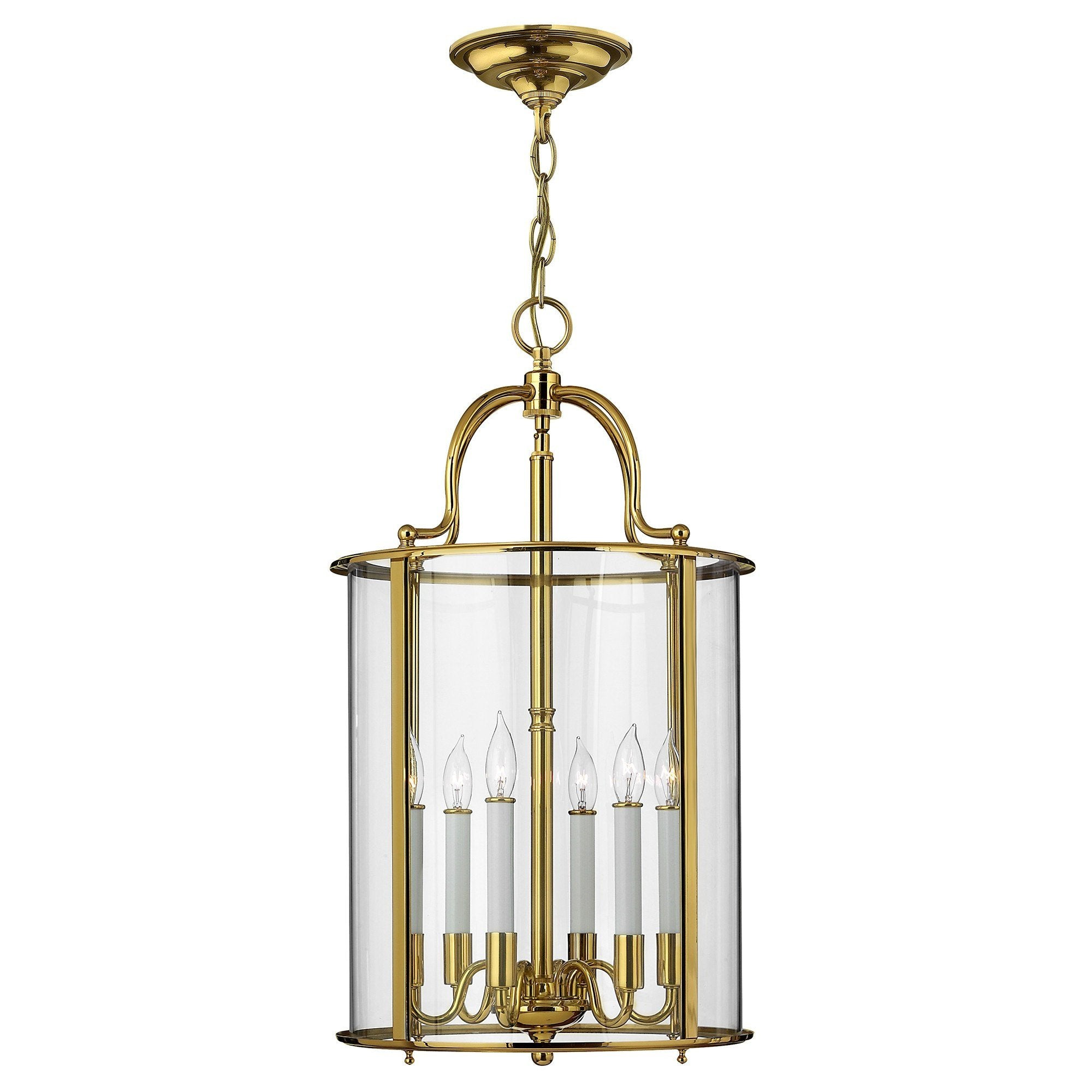 Hinkely Gentry Large Pendant Light - London Lighting - 1