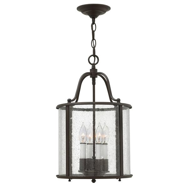 Sydenham Old Bronze Medium Pendant with 4 lights - ID 6428