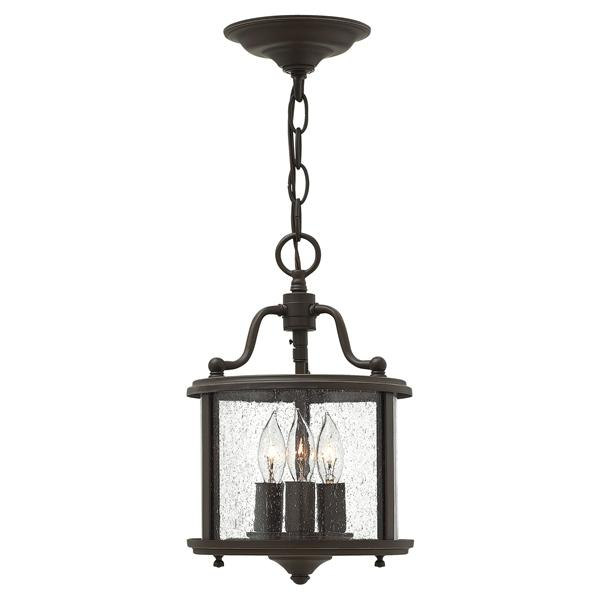Sydenham Old Bronze Small Pendant 3 Lights - ID 6432