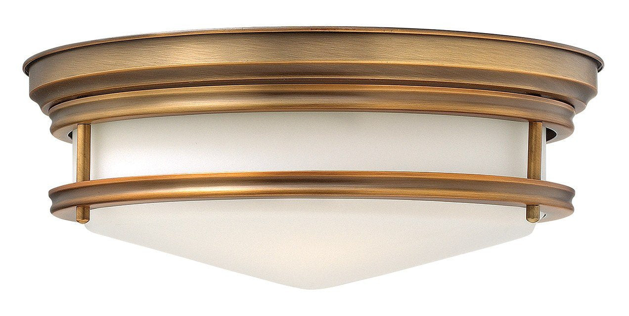 HADLEY -Brushed Bronze Flush - London Lighting - 1