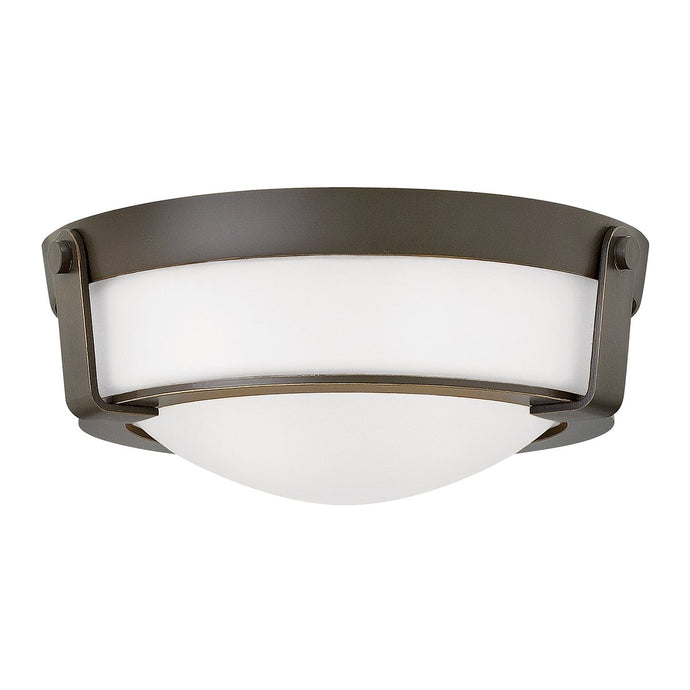 Flush Mount Two Light Olde Bronze
