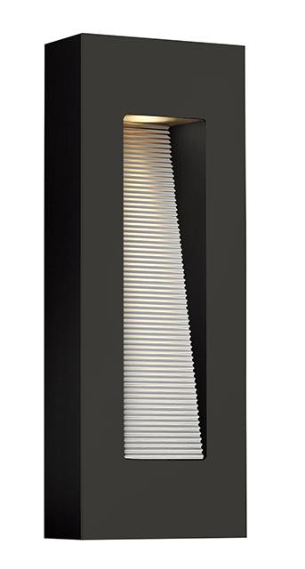 Satin Black Medium LED Wall Light