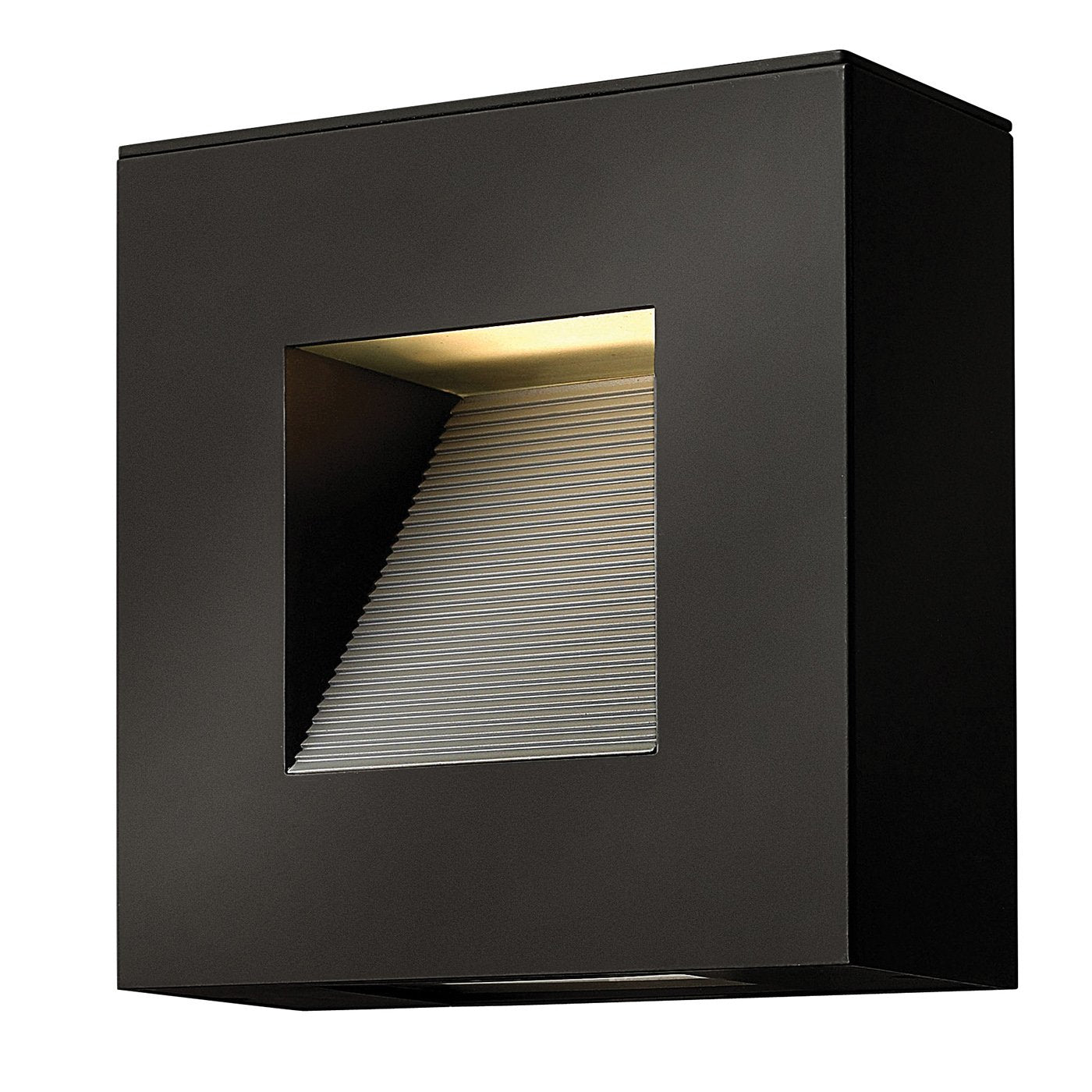 Satin Black Small LED Wall Light