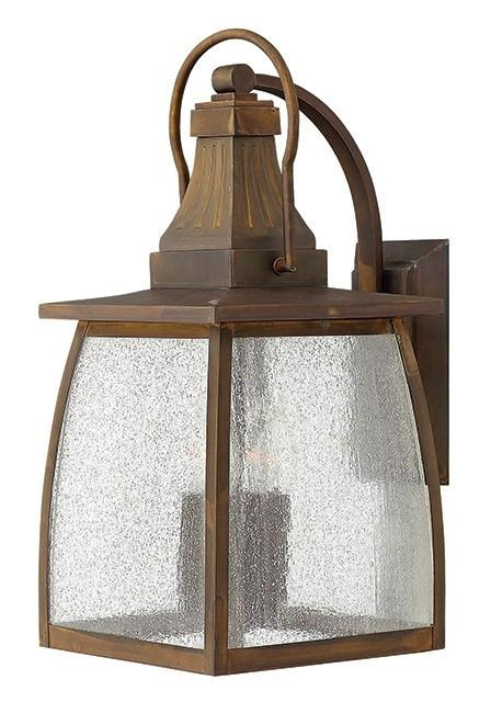 MONTAUK - Large Exterior Wall Lantern - London Lighting - 1