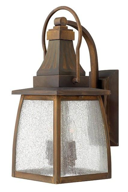 MONTAUK - Medium Exterior Wall Lantern - London Lighting - 1