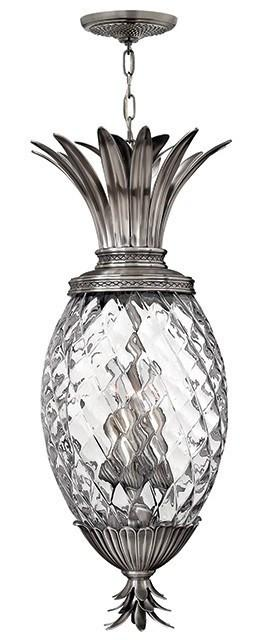 Plantation 4 Lamp Pentant Polished Antique Nickel - London Lighting - 1