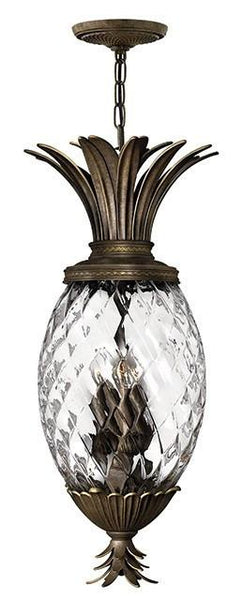 Plantation 4 Lamp Pendant Pearl Bronze - London Lighting - 1