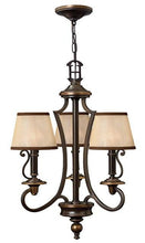 Plymouth 3 Lamp Chandelier - London Lighting - 1
