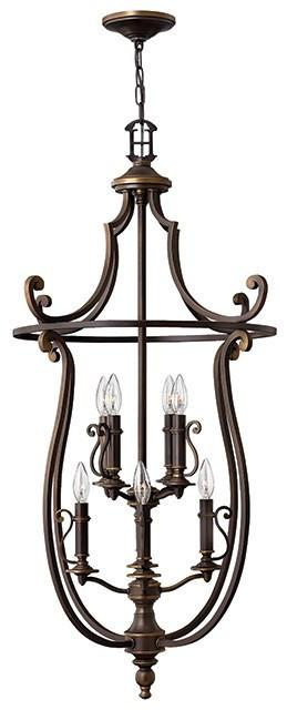 Plymouth 8 Lamp Pentant - London Lighting - 1