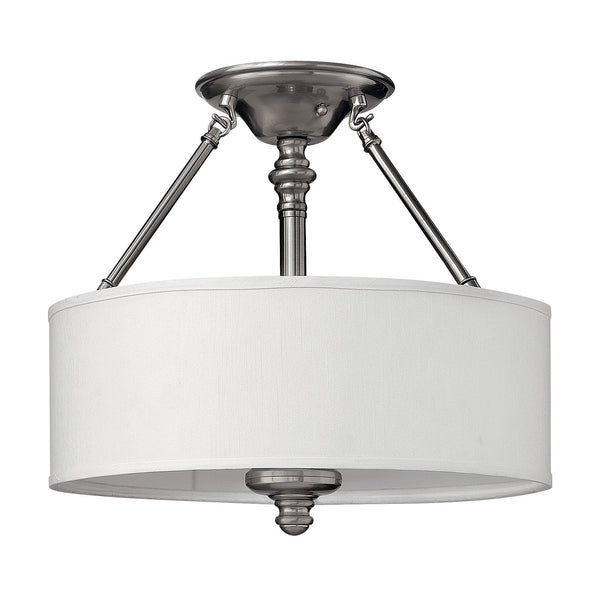Hinkley Sussex Semi-Flush Light - London Lighting - 1