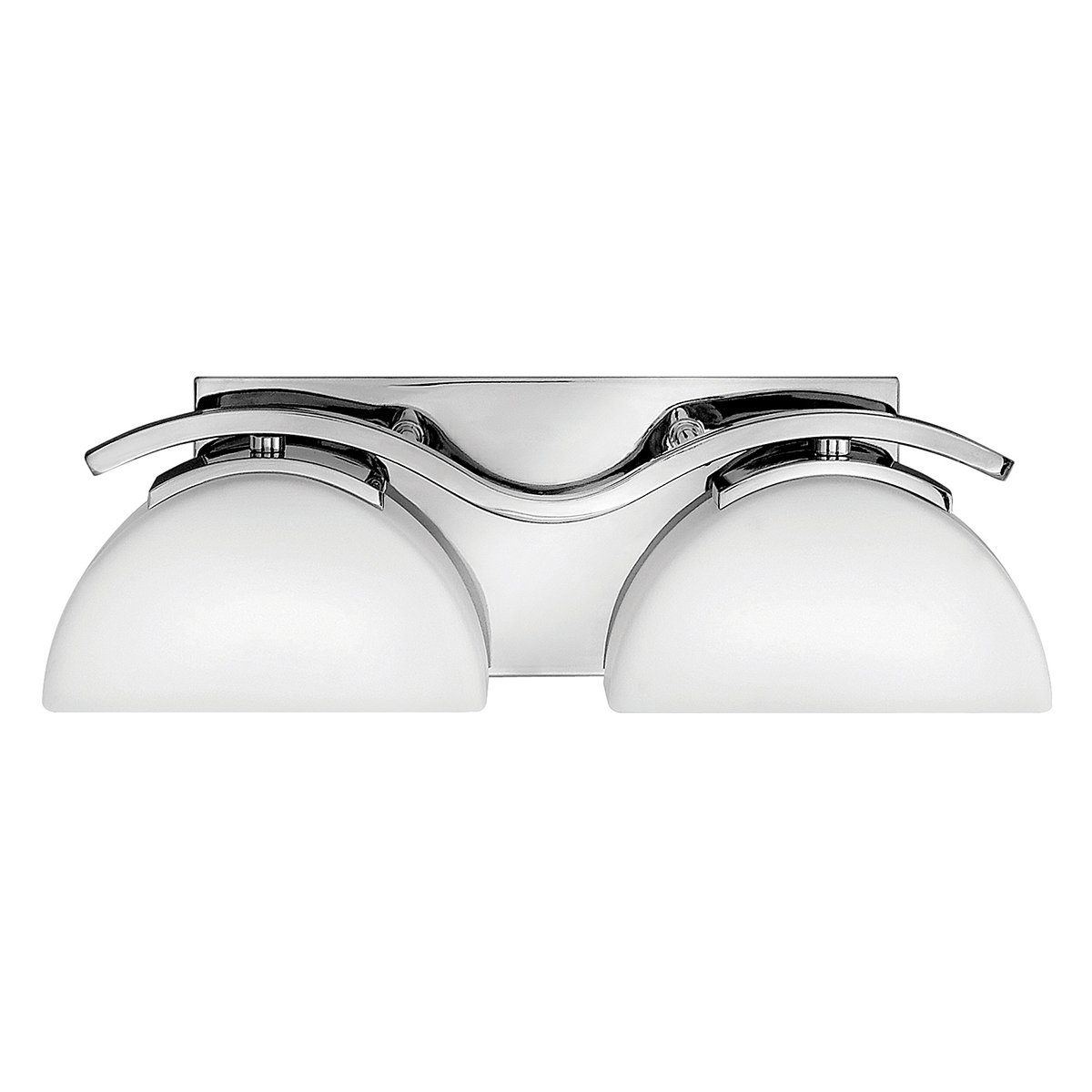ELSTEAD Verve Two Light Polished Chrome Bathroom Wall Light - EX DISPLAY