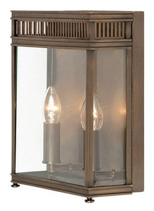 Holborn Half Lantern Medium Dark Bronze - London Lighting - 1