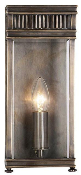 Holborn Half Lantern Small Dark Bronze - London Lighting - 1
