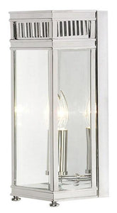 Holborn Half Lantern Small Polished Chrome - London Lighting - 1