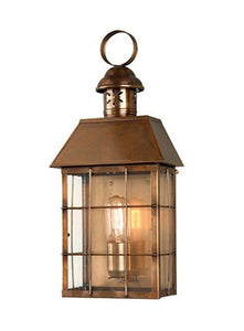 Hyde Park Wall Lantern Brass - London Lighting - 1
