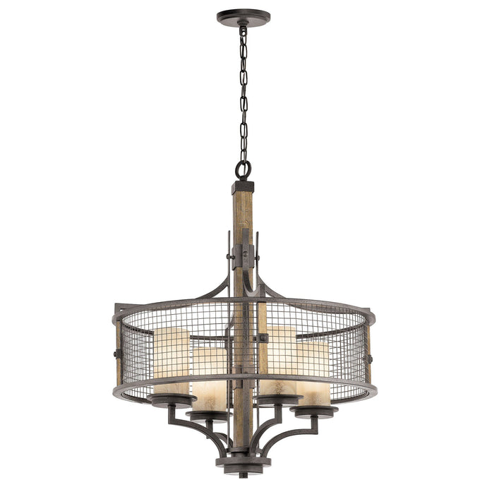 Kichler Ahrendale 4 Light Chandelier - London Lighting - 1