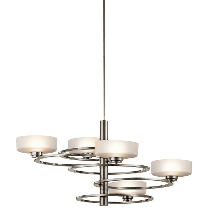 Kichler Aleeka 5 Light Chandelier 438mm - London Lighting - 1
