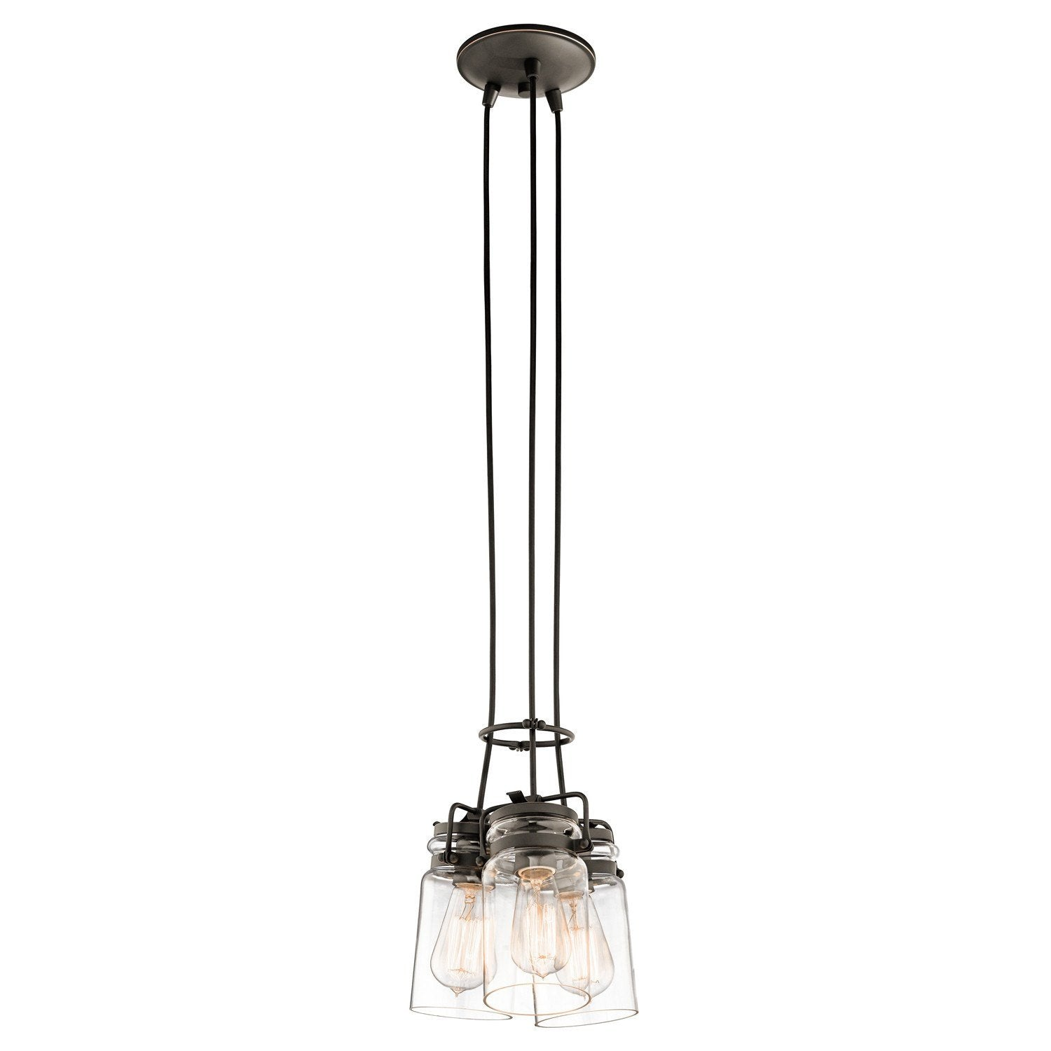 Kichler Brinley 3 Light Pendant Light - London Lighting - 1