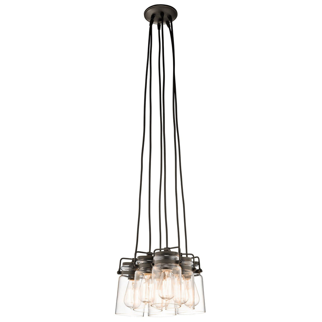 Kichler Brinley 6 Light Pendant Light - London Lighting - 1