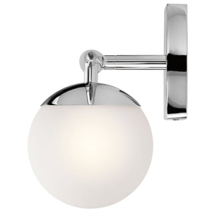 Three Light Polished Chrome Bathroom Wall Light