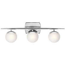 Hornsey Three Light Polished Chrome Bathroom Wall Light - ID 6688