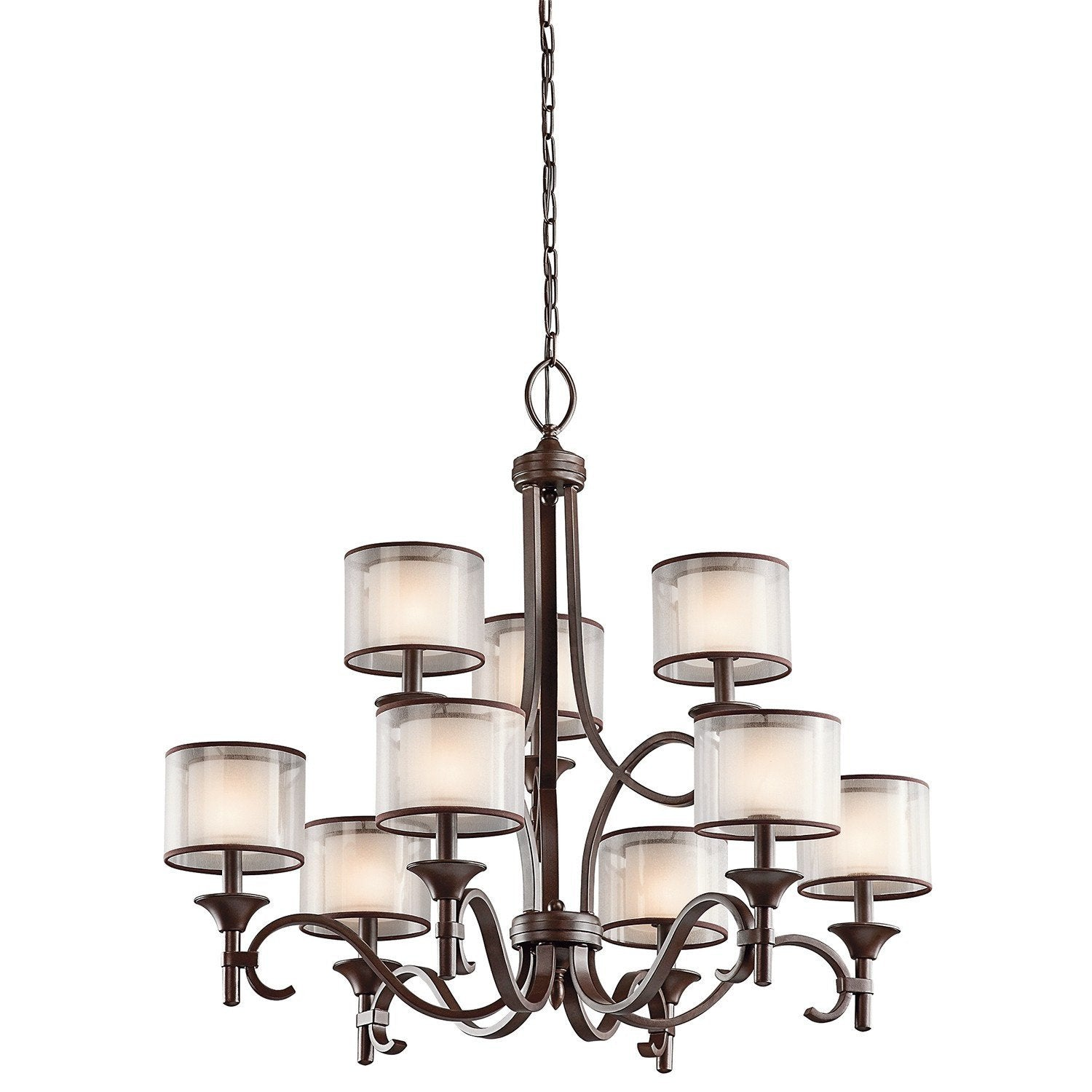 Kichler Lacey 9 Light Chandelier - London Lighting - 1