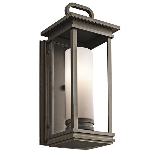 South Hope One Light Rubbed Bronze Medium Wall Lantern