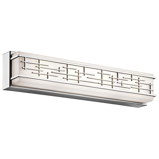 Zolon Polished Chrome Large Linear Bath LED Fitting