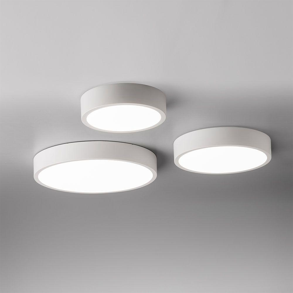 Hannay Large Circular Dimmable Flush LED Ceiling Light - ID 9112