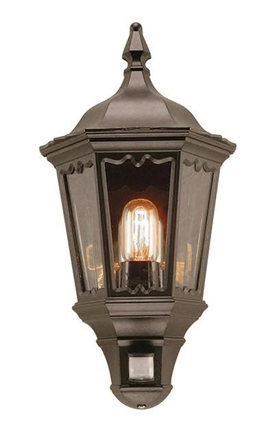 Medstead Half Lantern with PIR - London Lighting - 1
