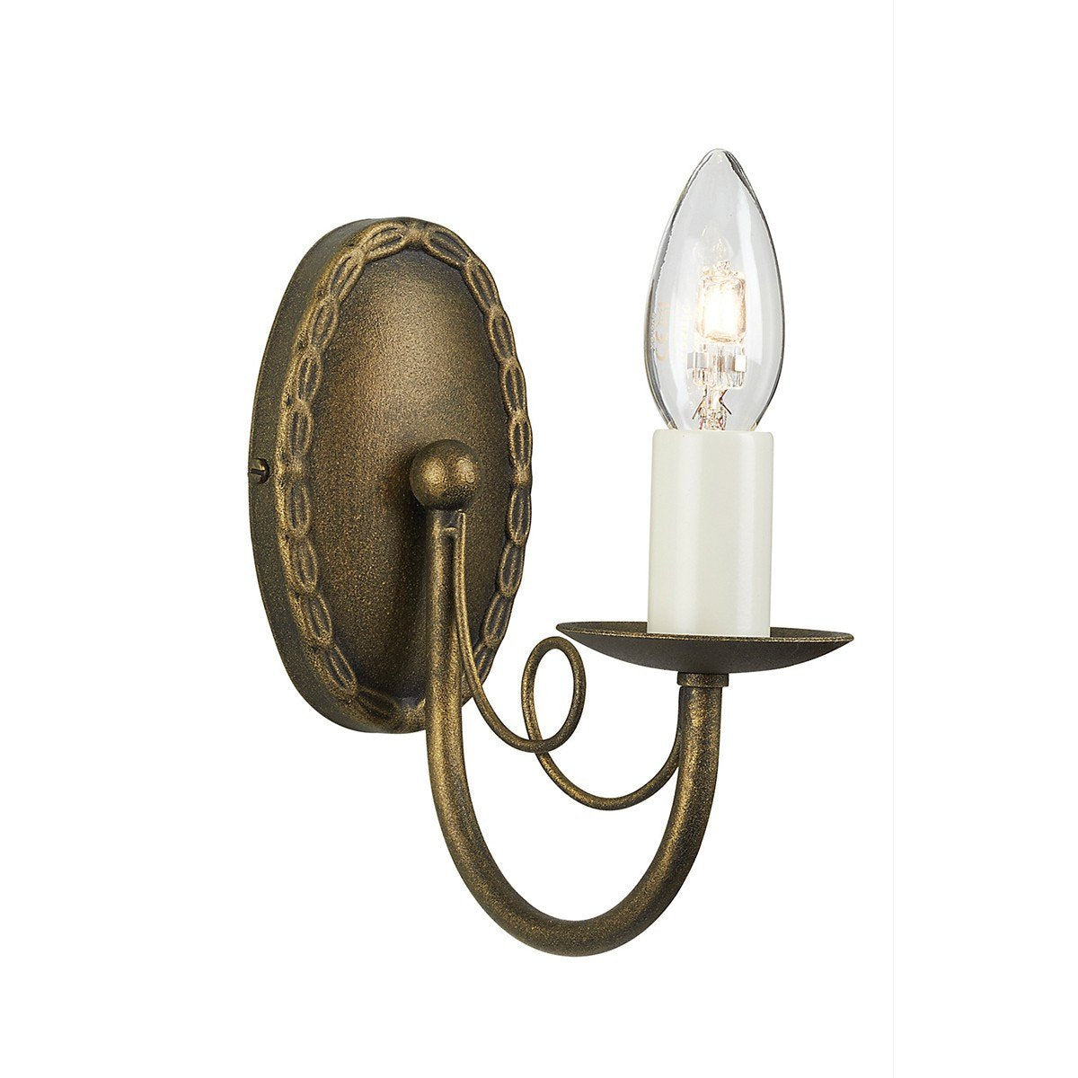 Minster 1 Arm Wall Light - London Lighting - 1